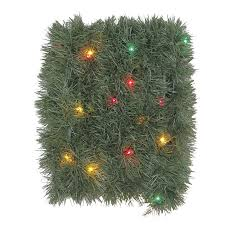 3ft Pre Lit Blossom Christmas Tree by Shop Artificial Christmas Garland At Lowes Com