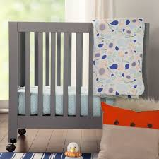Fleeting Flora 4 Piece Mini Crib Bedding Set & Reviews