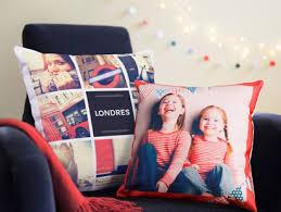 coussin avec photo personnalise produits photo personnalisés et développement photo en ligne