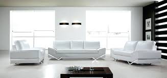 Poundex 3pc Sectional Sofa Set by Lovely White Leather Contemporary Sofa Picture U2013 Gradfly Co