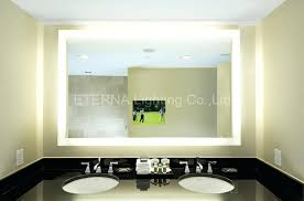 wall mirrors backlit wall mirror lighted vanity mirror wall