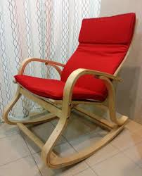 Ikea Poang Rocking Chair Nursery by Rocking Chair Seat Covers Velcromag