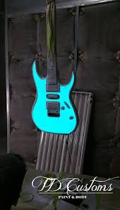 Light Up Paint Guitar Td Customs