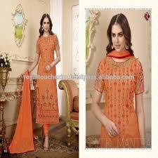 Name Of Dress Material For Cotton Neck Designs Salwar Kameez