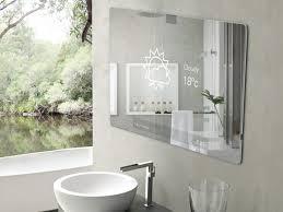 innovativer bad spiegel high tech produkt für das badezimmer