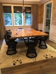 100 White Gloss Extending Dining Table And Chairs Room Unique Burled Maple Live Edge