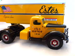 100 Estes Truck Lines Express First Gear Die Cast 134 Scale 40s Era War Bond