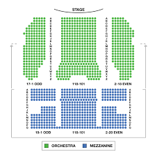 August Wilson Theatre Broadway Seating Charts