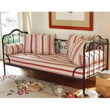 canapé lit fer forgé banquette décoration maison à la mer fer forgé