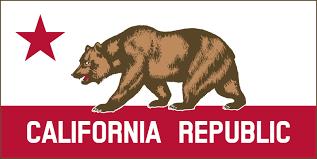 Flag Free California Banner Clipart A