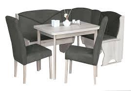 eckbankgruppe marland mit ausziehbarem tisch 2 stühlen und einer bank