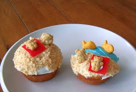 Pool Party Birthday Cupcakes