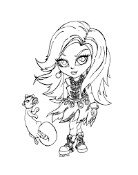 Monster High Valentine Coloring Pages Free Coloring Pages