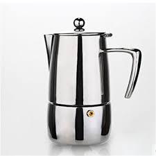 Stainless Steel Moka Pot Italian Mocha Coffee Maker Extract Machine Family