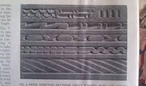 three ways that were used to make 19th century carved architectual