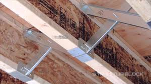 Floor Joist Bracing Support by Structure Lock I Joist And Dimensional Construction Step By Step