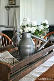 Table Centerpiece Ideas Dining Tables Breathtaking Dark Brown Rectangle Rustic Wooden Room Centerpieces Stained Decorations For