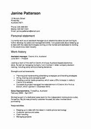 Statement Of Qualifications Template Inspirational Resume Samples Skills Fresh Examples 0d For