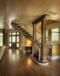 American Craftsman Style Homes Pictures by Lovely Staircase And Entry For A Craftsman Style Home Ideas For