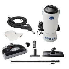 GV 6 qt Backpack HEPA Vacuum Cleaner with Power Head GV6QT 1