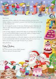 NSPCC Letter from Santa Christmas baking 2015 s