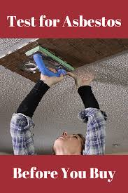 how to tell if your ceiling has asbestos integralbook com