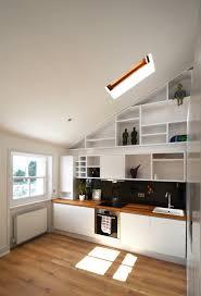 Attic Kitchen Ideas Beautiful Loft Design A Solution To Space Shortage