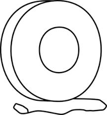 Yo Yo Outline Clip Art at Clker vector clip art online