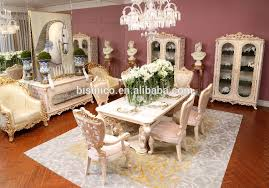 französisch königlichen massivholz goldene farbe 6 personen esstisch esszimmer möbel moq 1 set buy französisch königlichen esstisch französisch