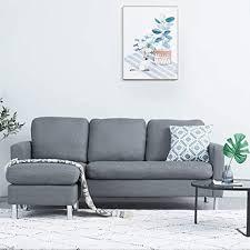 xjllove sofa schlaf set modernes l förmige sofa für kleine