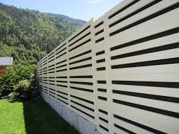 clôture anti bruit en pvc pour diminution bruit de voisinage en