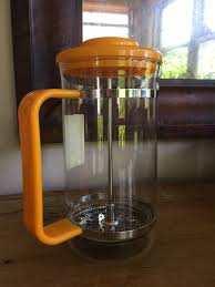 Vintage Bodum Bistro French Press Coffee Maker 6 Cup Bright