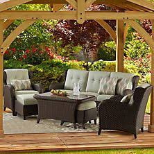 member s mark agio collection park place sunbrella seating set