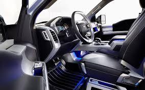 100 Concept Trucks 2014 Prevnext Ford Atlas Pickup Cockpit Interior View At Naias