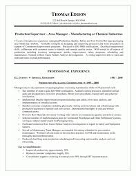 Production Supervisor Resume Examples Beautiful Maintenance Template Lovely Material Handler Job Of