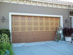 Painting An Over Sized Garage Door