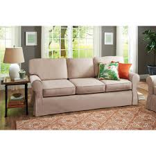 living room buchannan microfiber sofa us stock with upholstery