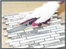 how to install the tile backsplash