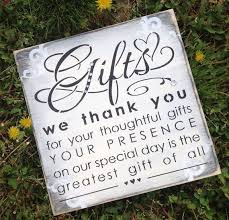 Wedding Gift Table Sign By KerriArt On Etsy 2200