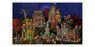 Lemax Halloween Village 2017 by Lemax Spooky Town Build Your Halloween Village With Kmart