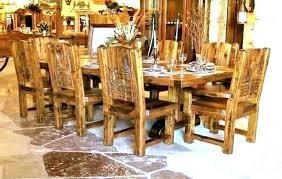 Wood Kitchen Table Sets Rustic And Chairs Lovely Dining Set Distressed Round With Bench Kitch