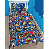 Tmnt Toddler Bed Set by Teenage Mutant Ninja Turtles Tesco
