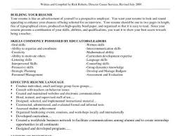 Sample Resume Of A Project Manager And Skills Samples How To