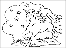 Free Printable Unicorn Coloring Pages For Kids New Color