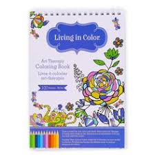 Living In Color Art Therapy Coloring Book