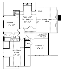 Ceiling Joist Span Table by European Style House Plan 4 Beds 3 Baths 2776 Sq Ft Plan 927 18
