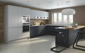 moderne küche in u form kochkomfort inmitten modernen