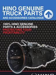 100 Hino Truck Parts Bus Catalogue Car Automobile Layouts