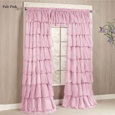 100 ivory ruffle blackout curtains amazon com luxura light