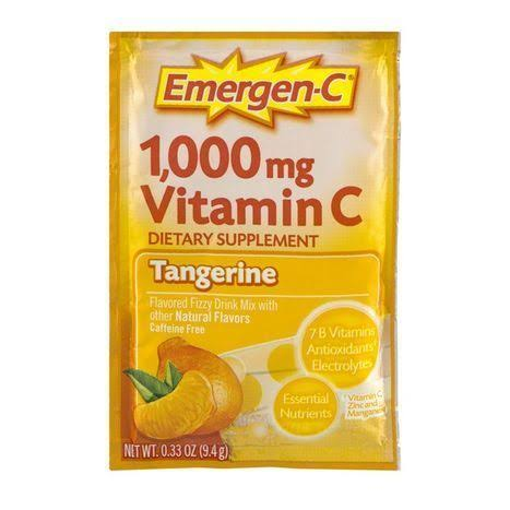 Emergen-C 1,000mg Vitamin C Supplement - Tangerine